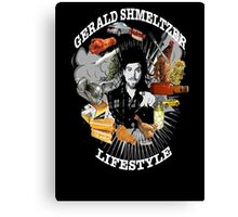 Gerald Shmeltzer Lifestyle ( dark shirt version ) Canvas Print