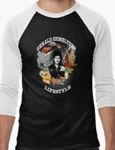 Gerald Shmeltzer Lifestyle ( dark shirt version ) Men's Baseball ¾ T-Shirt