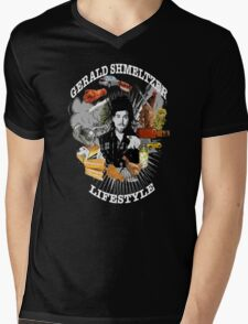 Gerald Shmeltzer Lifestyle ( dark shirt version ) Mens V-Neck T-Shirt