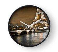 A Symbol of Paris - Eiffel Tower Clock