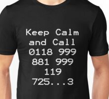 Emergency Services Number Unisex T-Shirt