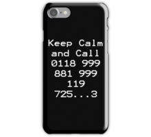 Emergency Services Number iPhone Case/Skin