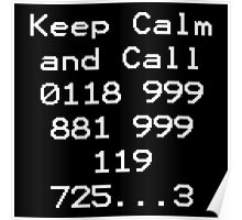 Emergency Services Number Poster