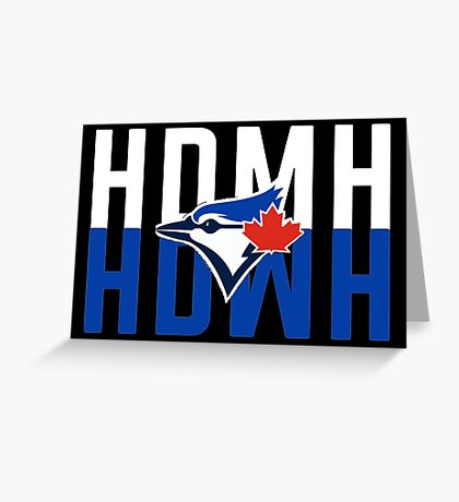 Marcus Stroman HDMH Blue Jays Greeting Card