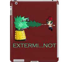Extermi-not Powerpuff Eleventh Doctor iPad Case/Skin