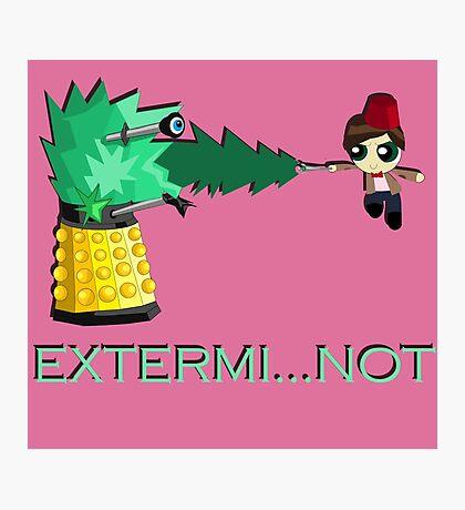Extermi-not Powerpuff Eleventh Doctor Photographic Print