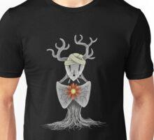 Flower Stag Hybrid Unisex T-Shirt