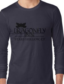 Dragonfly inn Black Long Sleeve T-Shirt