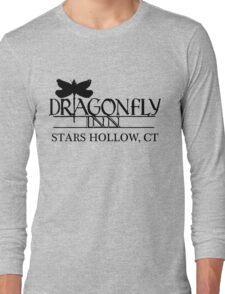 Dragonfly inn Black Long Sleeve T-Shirt