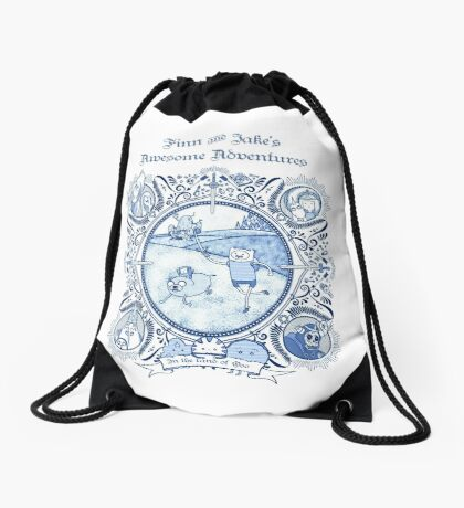Awesome Adventures Drawstring Bag