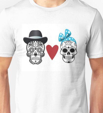 Mr & Mrs Skull  Unisex T-Shirt