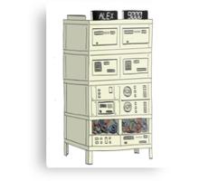 The Alex 9000 Computer c1981 Metal Print