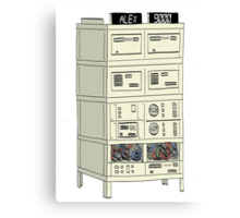 The Alex 9000 Computer c1981 Canvas Print