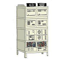 The Alex 9000 Computer c1981 Photographic Print