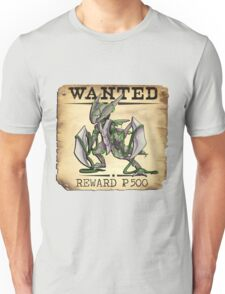 Alolan Kabutops - Most Wanted Poster Unisex T-Shirt