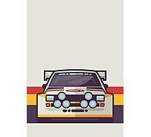 Audi Sport Quattro S1 - HB Livery (Stripe White) Photographic Print