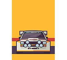 Audi Sport Quattro S1 - HB Livery (Stripe Yellow) Photographic Print
