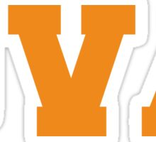 UVA Sticker