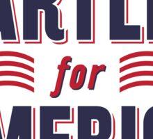 Bartlet For America — NEW DESIGN!!! Sticker
