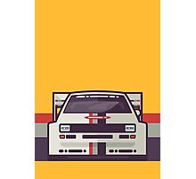 Audi Sport Quattro S1 - Audi Sport Livery (Stripe Yellow) Photographic Print