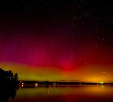 Aurora Borealis by Jim Cumming