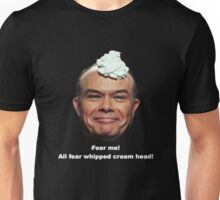 Red Forman Whipped Cream Head (white letters) Unisex T-Shirt