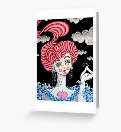 Calypso Greeting Card
