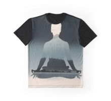 Nature Meditation  Graphic T-Shirt