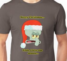 Squidward Christmas LIMITED TIME ONLY Unisex T-Shirt