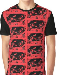 Red Retro Cassette Tape  80 1980 1980's 1980s Music Graphic T-Shirt