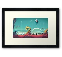 No Mans Sky - HD Large Framed Print