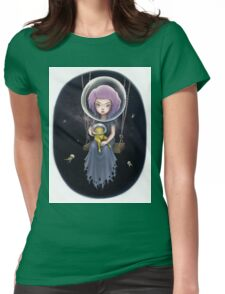 THE SPACE SWING Womens Fitted T-Shirt