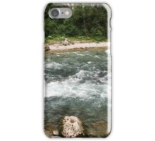The mountain river iPhone Case/Skin