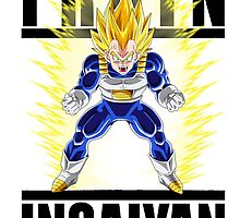 Train Insaiyan - Vegeta by Cookie money