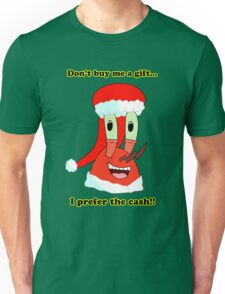 Mr. Krabs Christmas LIMITED TIME ONLY Unisex T-Shirt