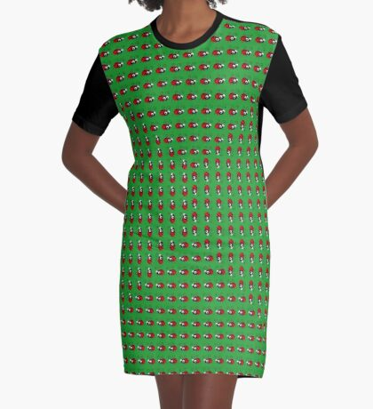 ladybug Graphic T-Shirt Dress