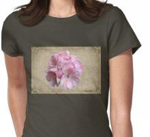 Geranium ~ Grandmother's Favorite Womens Fitted T-Shirt