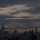 New York City - Skyline - Sunset by Olivia Son