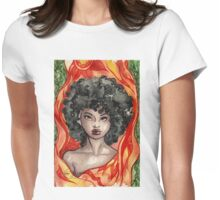 Summer Muse Womens Fitted T-Shirt