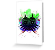 Majoras Mask (Vibrant) Greeting Card