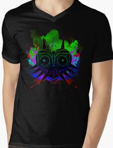 Majoras Mask (Vibrant) Mens V-Neck T-Shirt