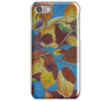Sunlight through maple leaves iPhone Case/Skin