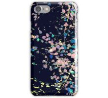 Nature Pattern # 4 - Birch (Blue) iPhone Case/Skin