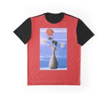 The Rose in Winter Graphic T-Shirt