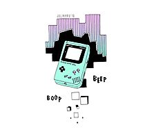 Gameboy Photographic Print