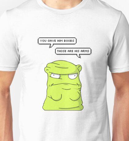 Melted Kuchi Kopi Yellow Unisex T-Shirt