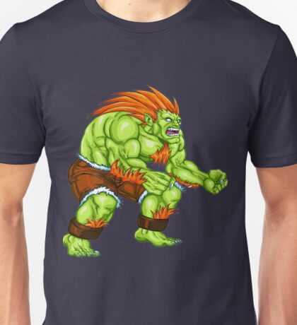 Blanka - green fighter Unisex T-Shirt