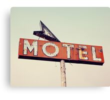 Vacancy - Route 66 Motel Canvas Print