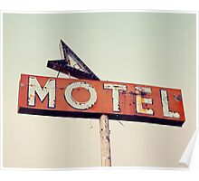 Vacancy - Route 66 Motel Poster