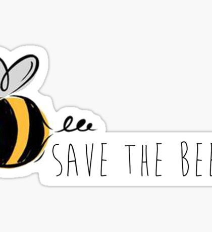 Save the Bees! Sticker